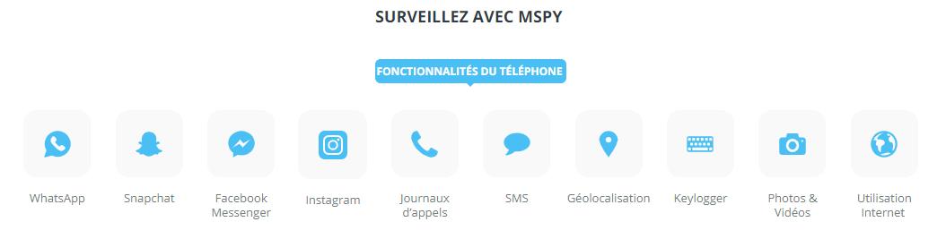 mspy surveiller réseaux sociaux